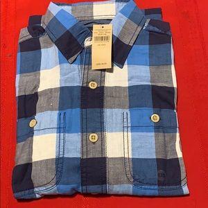 American Eagle Men's Shirt Classic Fit Rustic XXS